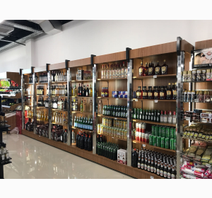 Beverages & Spirits Sections